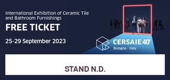 Cersaie 2021 - Free ticket